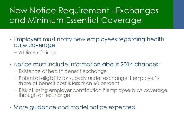 Affordable Care Act What Does It Mean For Small Employers