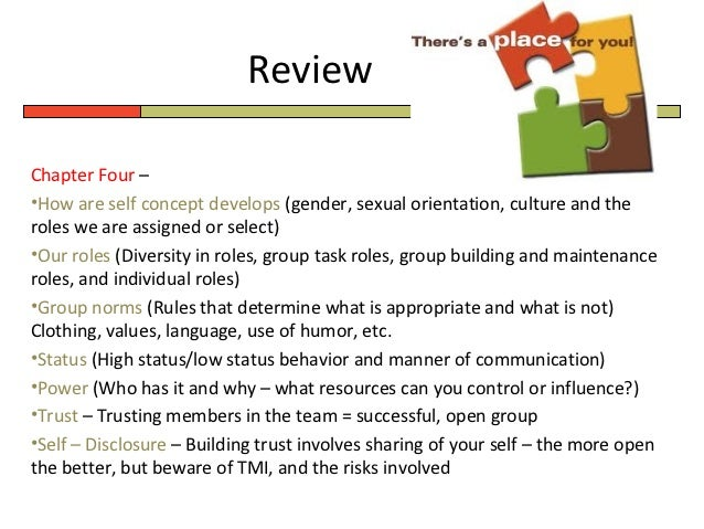 communication in small group mutuality of concern New technologies and small group communication theory  establishing mutuality of concern interpersonal attraction group attraction homogeneity and diversity in groups.