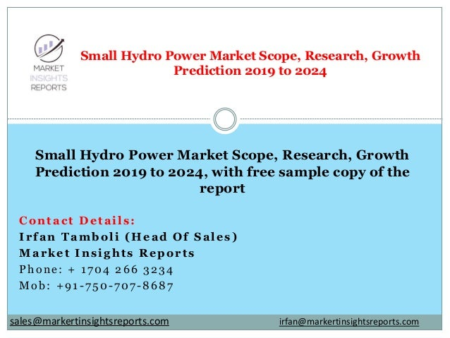 Contact Details: Irfan Tamboli (Head Of Sales) Market Insights Reports Phone: + 1704 266 3234 Mob: +91-750-707-8687 Small ...