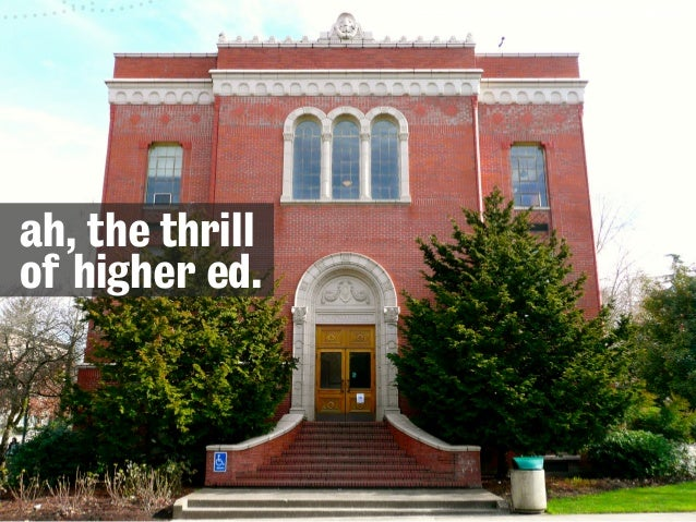 Small is Big: Changing Your Institution, Little by Little - Confab Higher Ed Slide 2