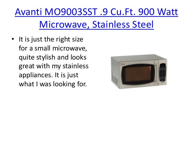 What Is The Best Small Microwave