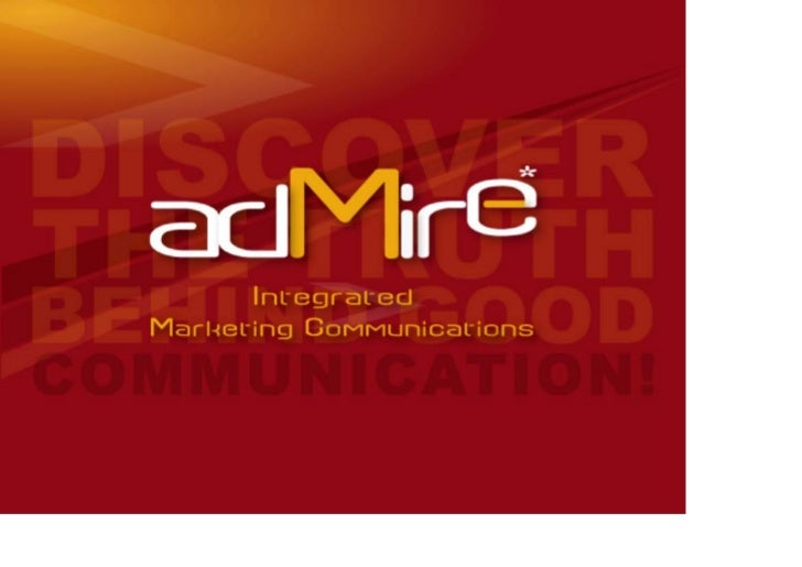 Admire Packaging & Retail Branding     Andi S. Boediman Strategic Planning Director