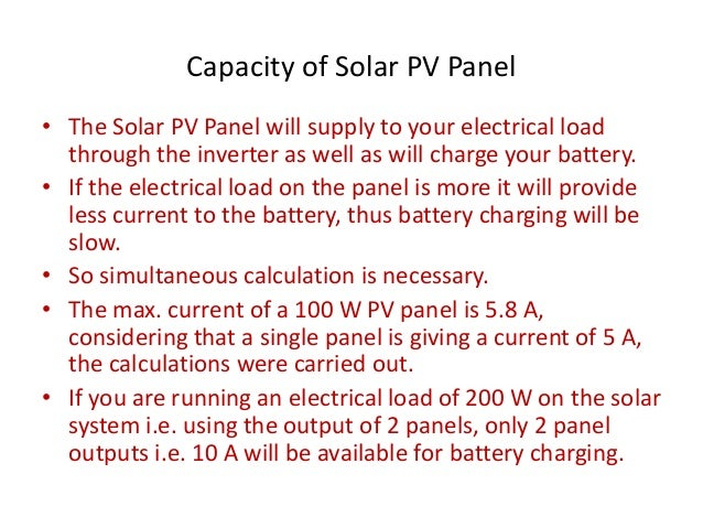 Small Residential Stand Alone Roof Top Solar Pv