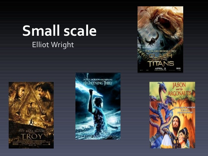 Small scale  Elliot Wright