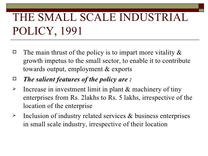 small scale enterprises essay Classification of small scale industries  this limit was revised to rs 10 lakh for small scale enterprises and rs 20  essay on the development of small scale.
