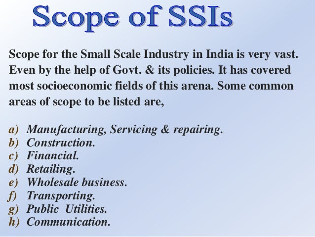 thesis on financial problems of small scale industries in india To promote ssis through various incentives related to financial  to understand the problems of msmes in india definition of small-scale industries.