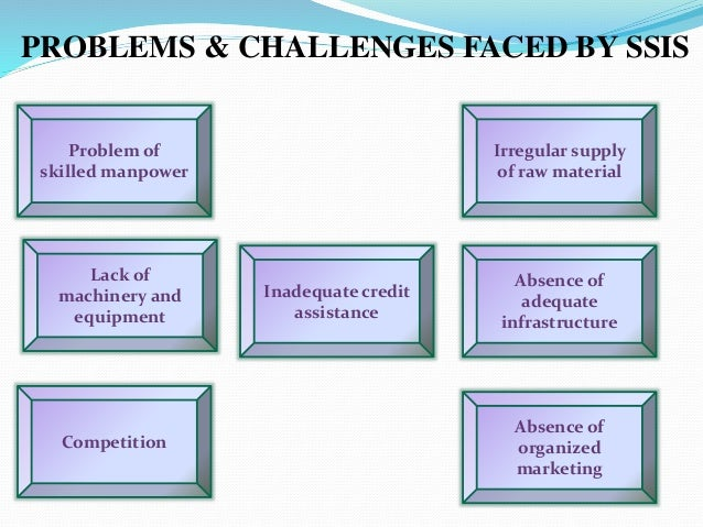 problems faced by small scale businesses Finance is one of the most important problems faced by small entrepreneurs as finance is the life blood of a business organization and no business organization can function properly in the absence of adequate funds the problem of finance in small sector is mainly due to two reasons ie (i.