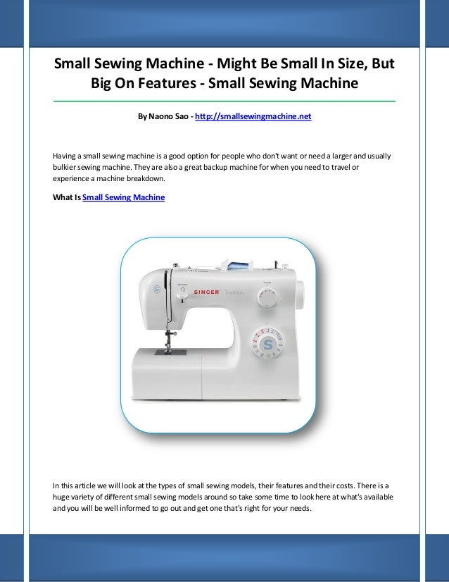 Small Sewing Machine Enchanting Travel Size Sewing Machine