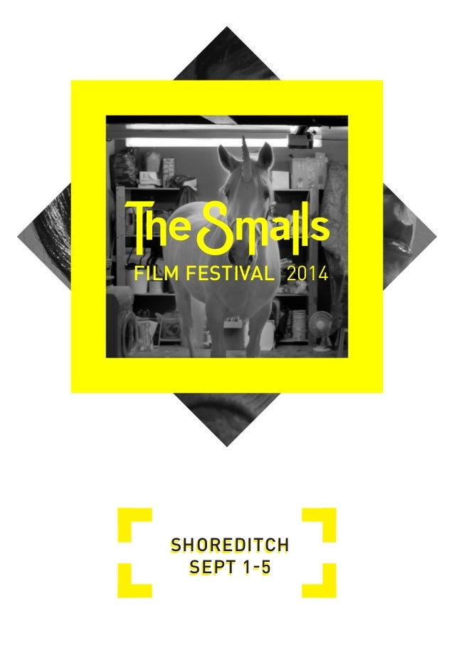 2014  FILM FESTIVAL  SHOREDITCH SEPT 1-5