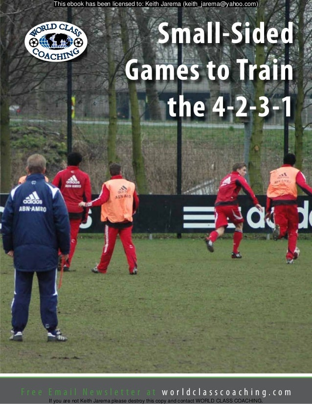 Small sided games to train the 4 2 3 1 fandeluxe Gallery