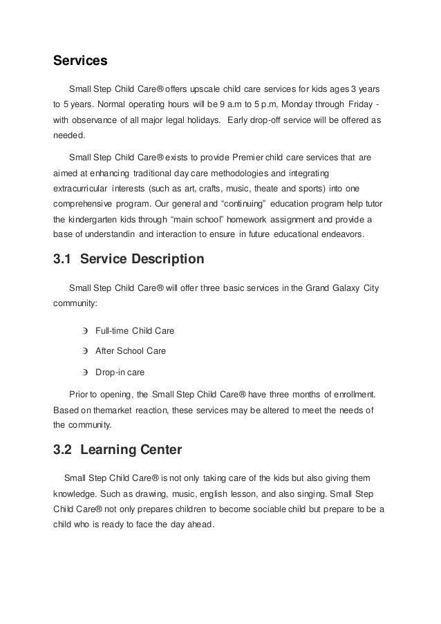 tutoring center business plan
