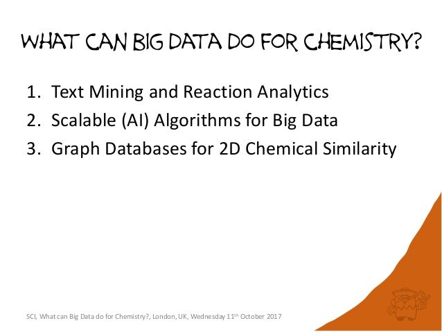 Chemical similarity using multi-terabyte graph databases: 68 billion nodes and counting Slide 2