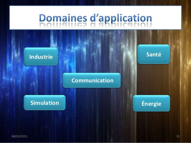 Industrie                     Santé                          Communication             Simulation                   Énergi...