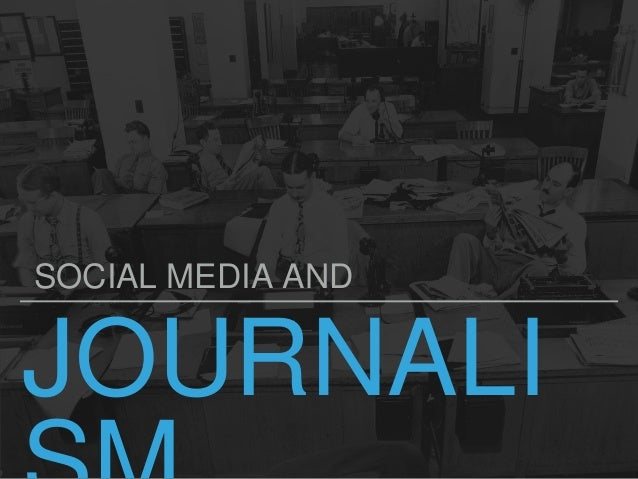 JOURNALI SOCIAL MEDIA AND