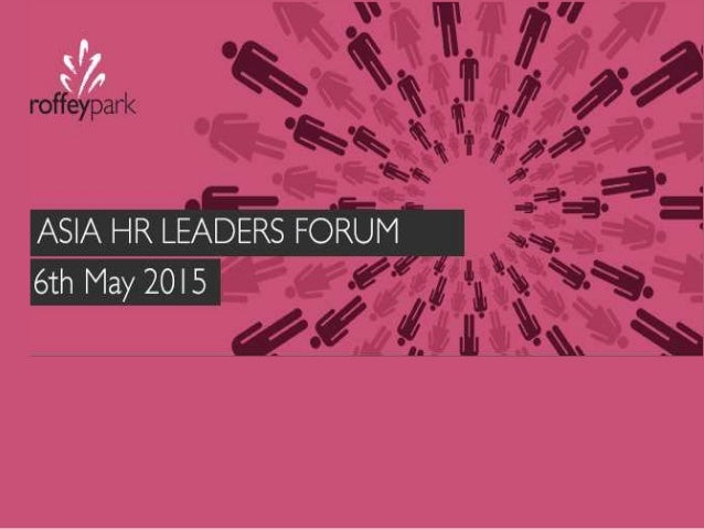Programme 8.30 Registration 9.00 Singapore Management Agenda 2015 Michael Jenkins, Chief Executive, Roffey Park Saradevi, ...