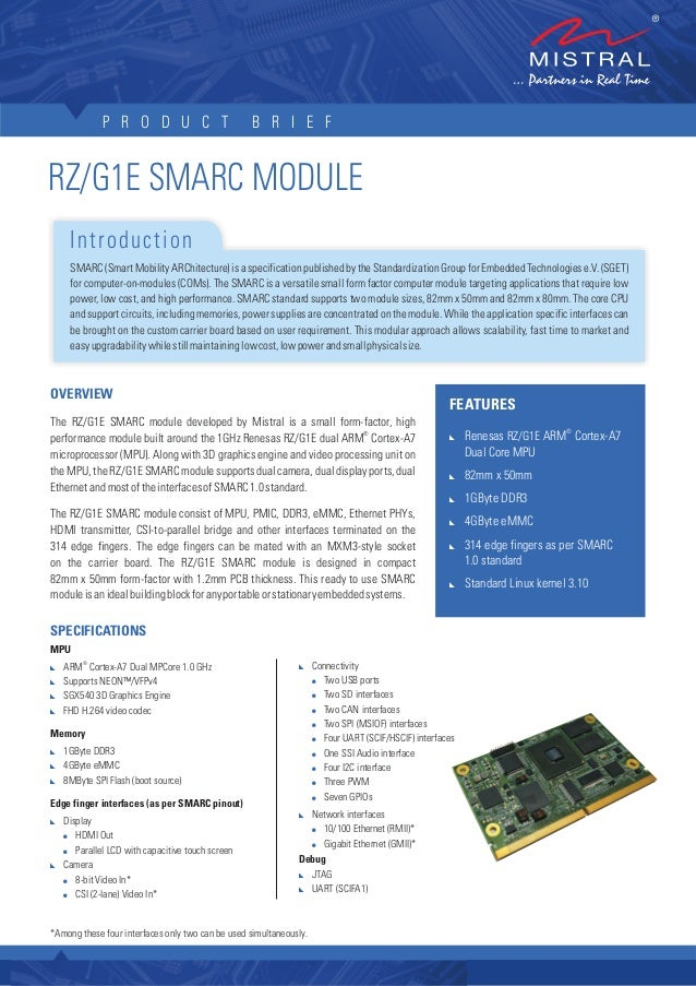SMARC Development Kit