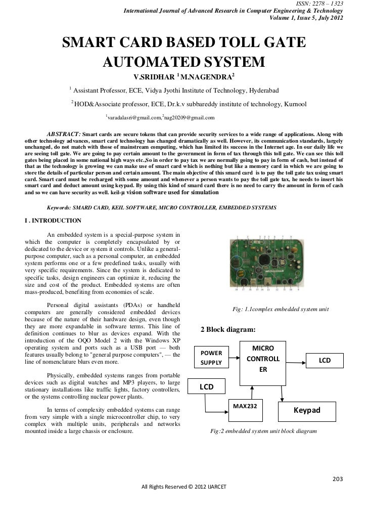 ISSN: 2278 – 1323                                          International Journal of Advanced Research in Computer Engineer...