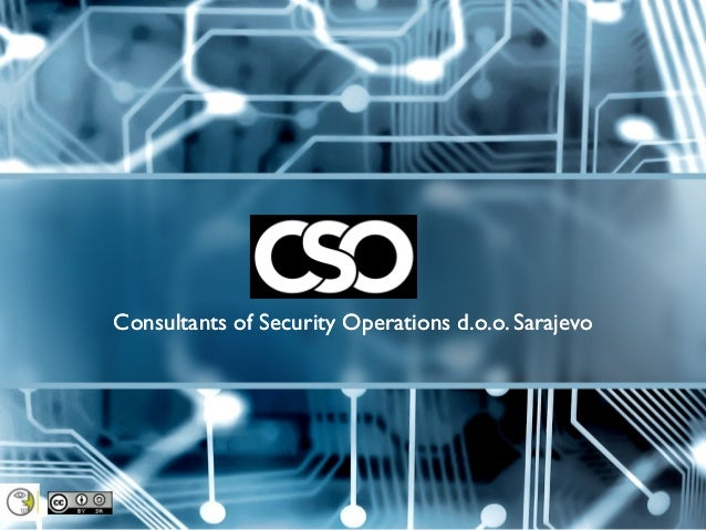 Consultants of Security Operations d.o.o. Sarajevo