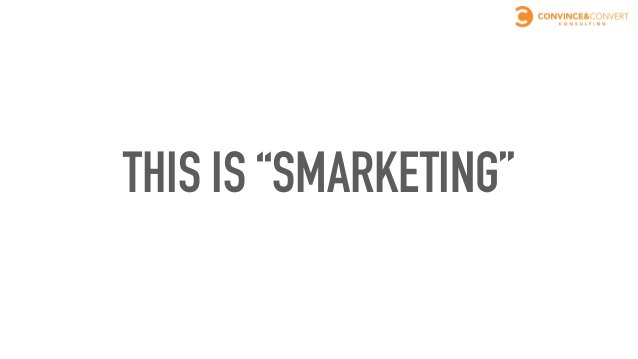 AND SMARKETING PAYS…