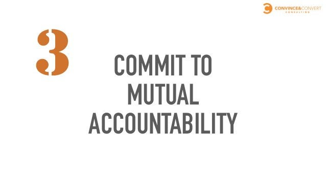 MUTUAL ACCOUNTABILITY ➤Sales has to stop blaming marketing for lead quality ➤Marketing has to stop blaming sales for inab...