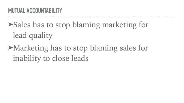 MUTUAL ACCOUNTABILITY: HOW TO ➤First, determine the activities and ratios necessary to hit company-wide objectives: ➤Leads...