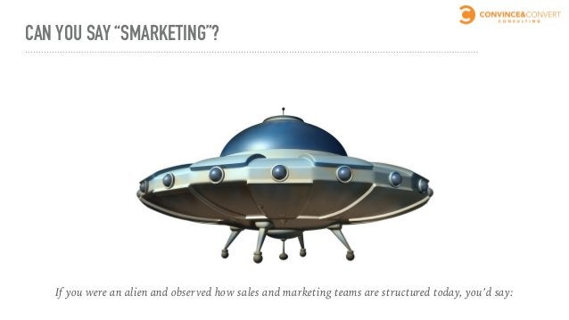 """CAN YOU SAY """"SMARKETING""""? WTF?"""