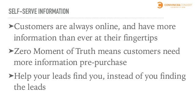 WHEN THEY'RE READY, THEY'RE READY Average customer reads 105 pages before contacting the company