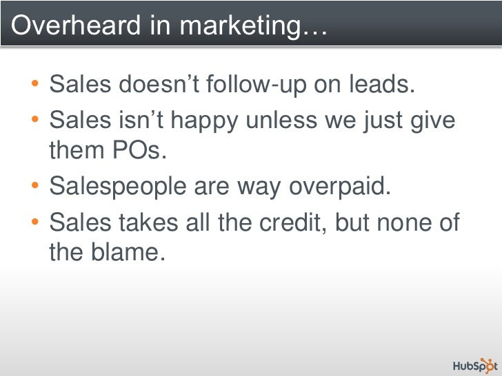 How to Improve Your Sales & Marketing Alignment Slide 3
