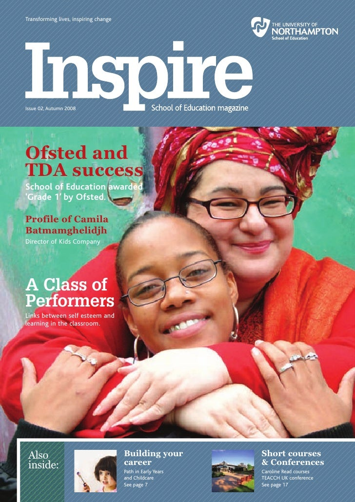 <p><strong>Page 1: </strong>      Transforming lives, inspiring change           Issue 02, Autumn 2008           Ofsted an...