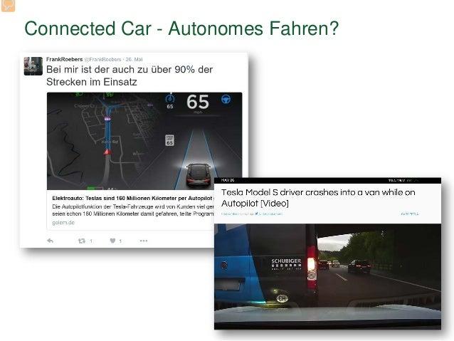 Connected Car - Autonomes Fahren?