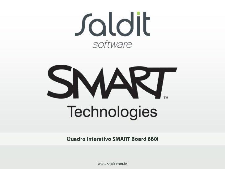 SMART TechnologiesTransforme sua aula ou reunião de negócios em uma verdadeira experiência interativa comSMART Board. A lo...