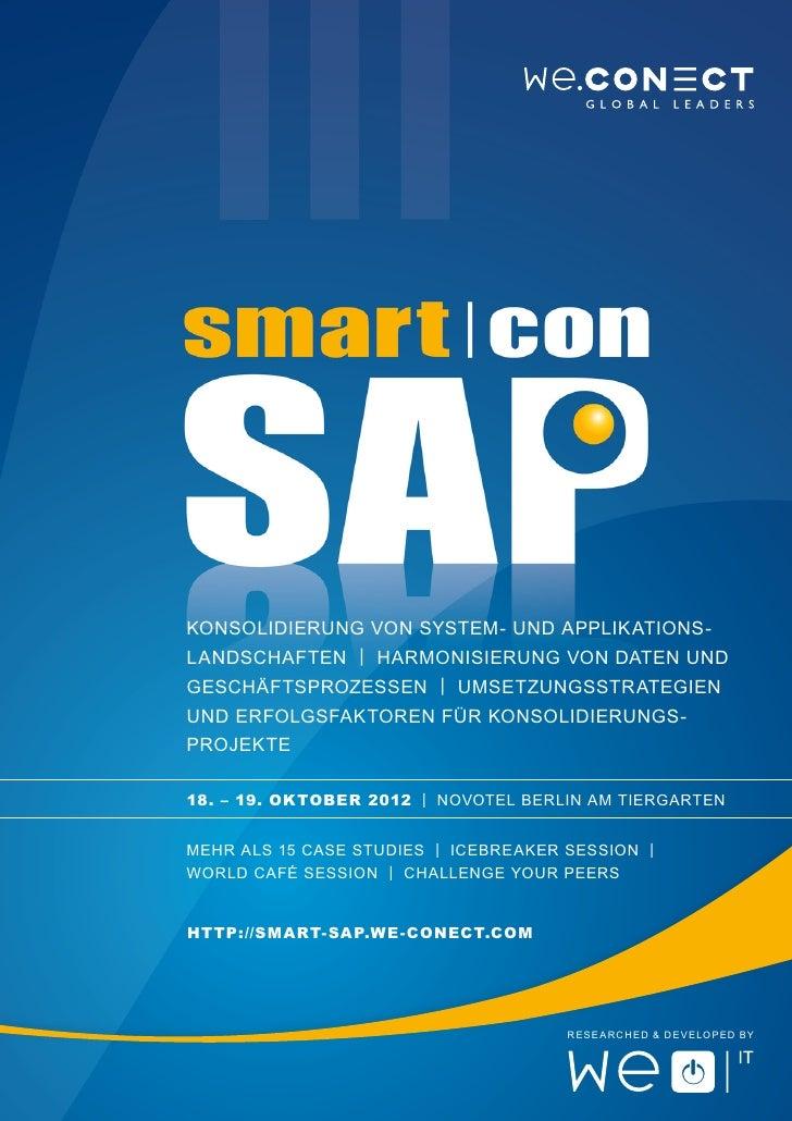 Konsolidierung von System- und Applikations-landschaften | Harmonisierung von Daten undGeschäftsprozessen | Umsetzungsstra...