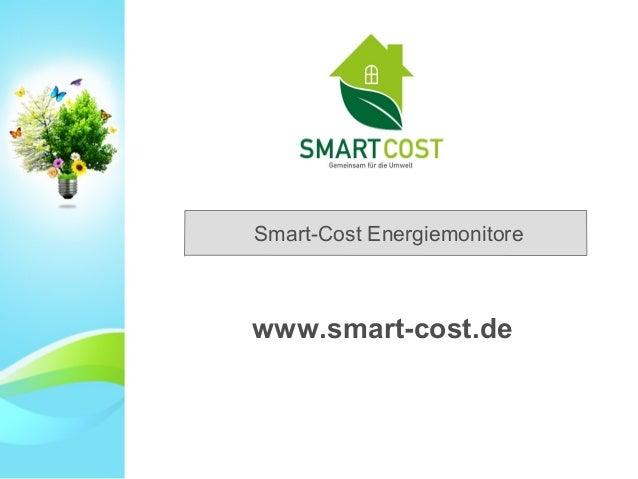 Smart-Cost Energiemonitore www.smart-cost.de