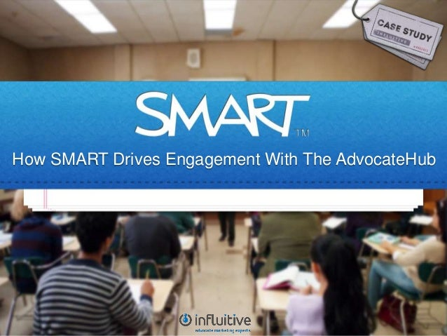 How SMART Drives Engagement With The AdvocateHub