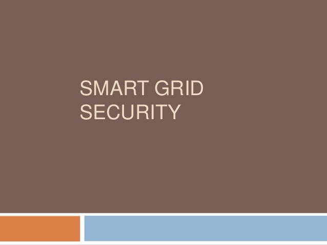 SMART GRIDSECURITY