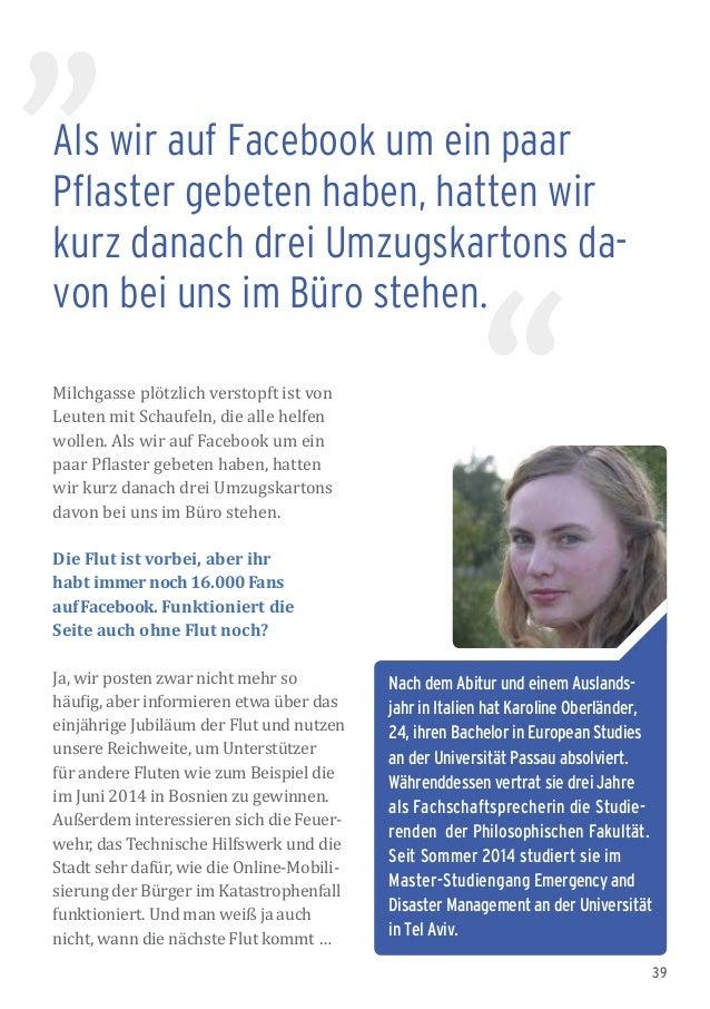 39 Nach dem Abitur und einem Auslands- jahr in Italien hat Karoline Oberländer, 24, ihren Bachelor in European Studies an ...