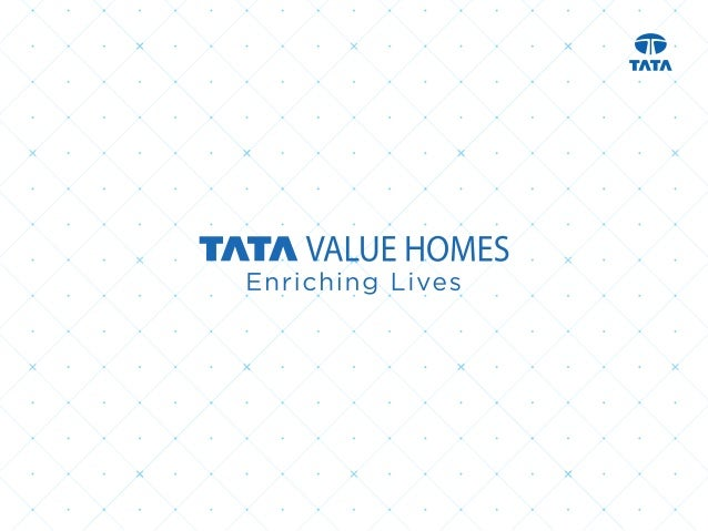 Tata Value Homes, a subsidiary of Tata Housing Development Company Ltd, has been formed with a vision of improving the qua...