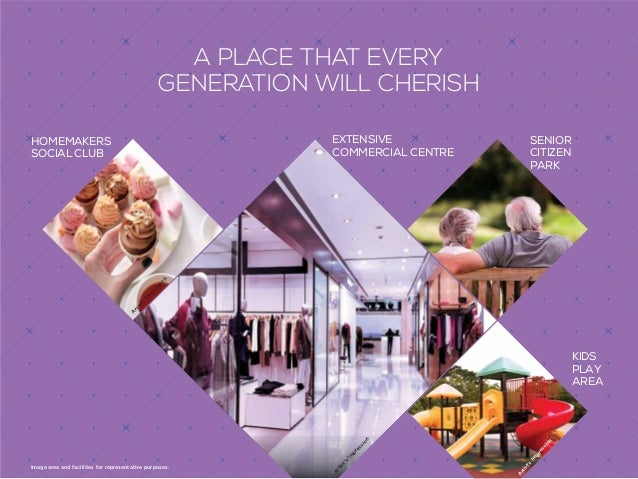 A VAST CHOICE OF SHOPPING OPTIONS AROUND YOUR HOME Provisions of the above indicative amenities shall be made available.