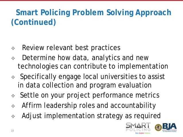 Policing And Technology Major Problems And Issues