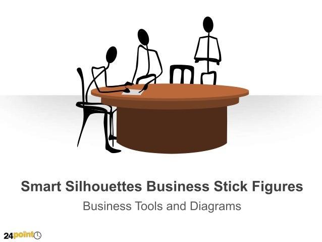 Smart Silhouettes Stick Figures