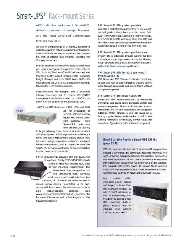 Smart ups brochure