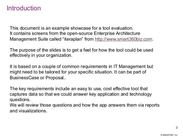 SMART360°EA questions & reports Slide 2