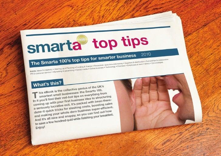 Smarta 100 top tips business ebook