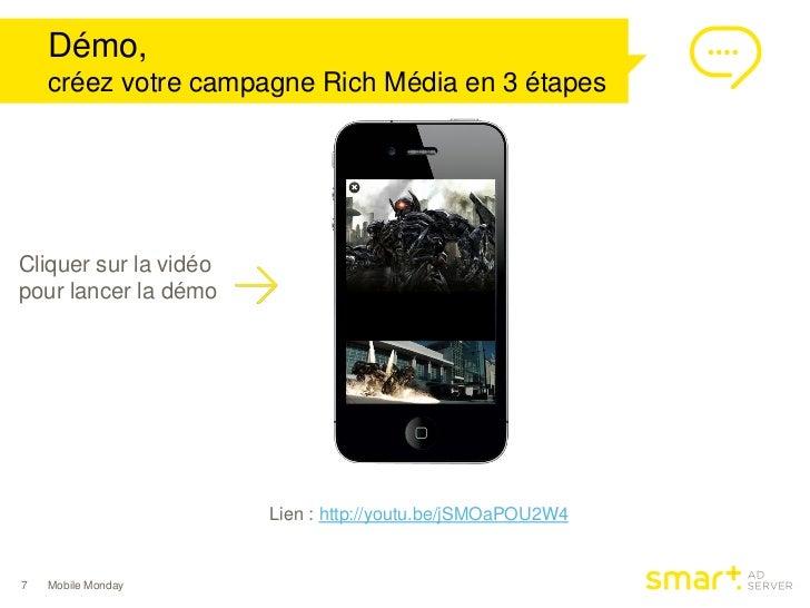 Démo,    créez votre campagne Rich Média en 3 étapesCliquer sur la vidéopour lancer la démo                       Lien : h...
