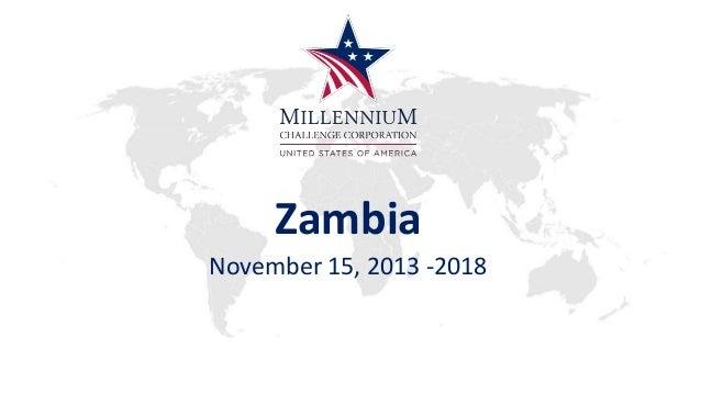 Zambia November 15, 2013 -2018