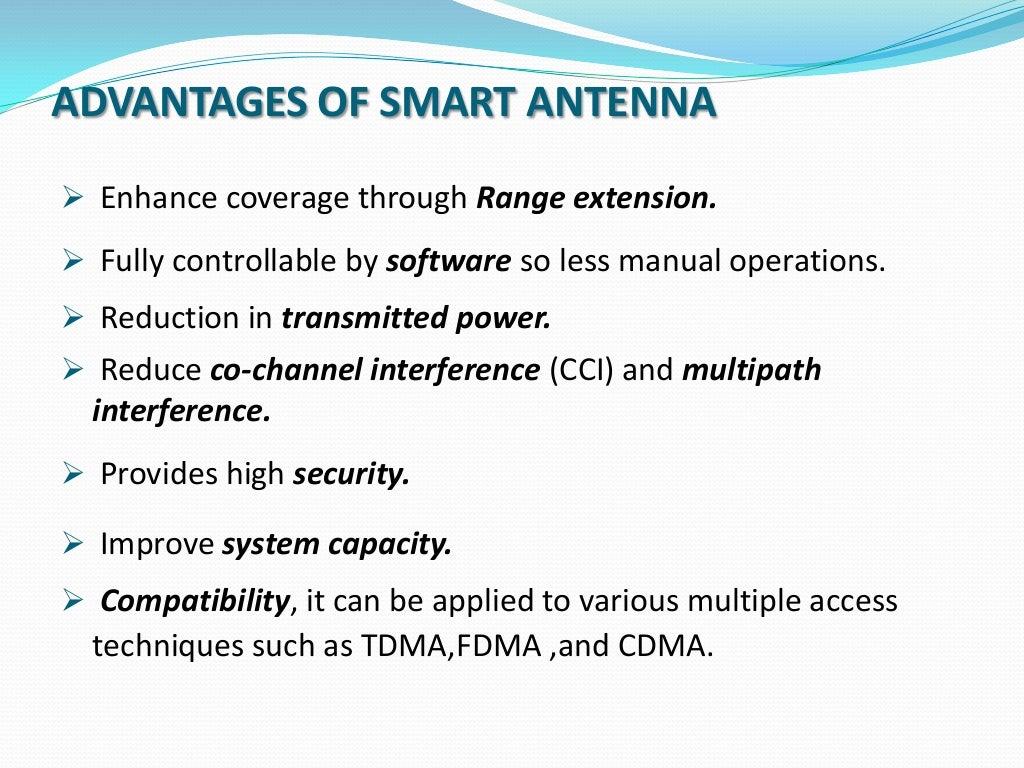 Ppt on smart antennas - Ppt On Smart Antennas 9
