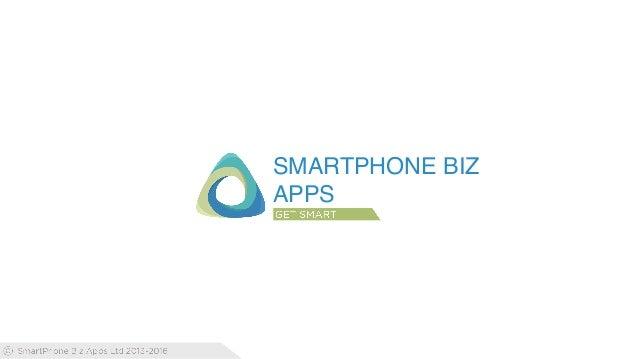 SMARTPHONE BIZ APPS