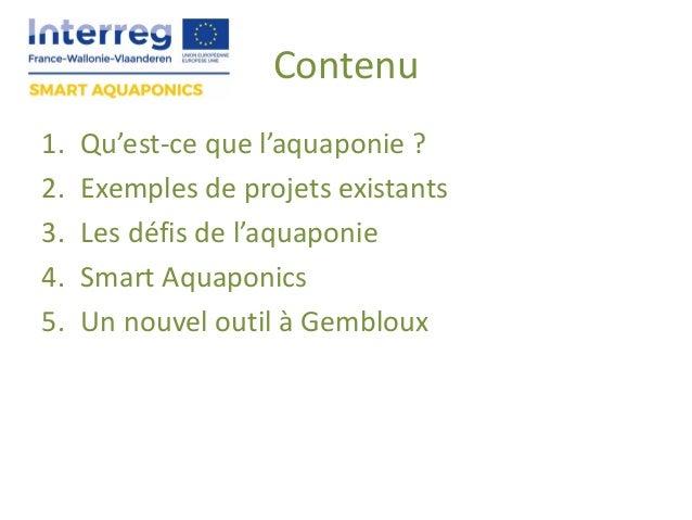 Smart aquaponics Slide 2