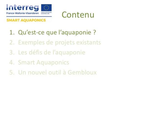 Smart aquaponics Slide 3