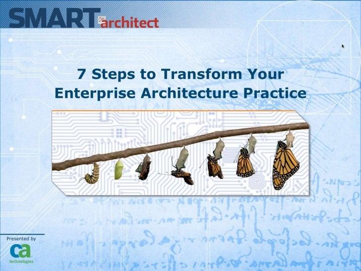 Smart Architect 7steps to Transform